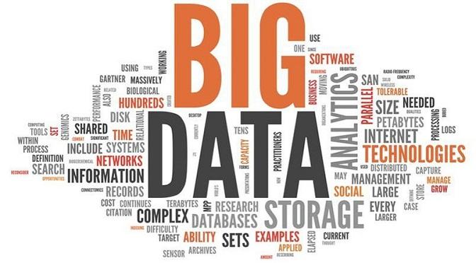 Illustration relative au Big Data dans l'univers de l'entreprise