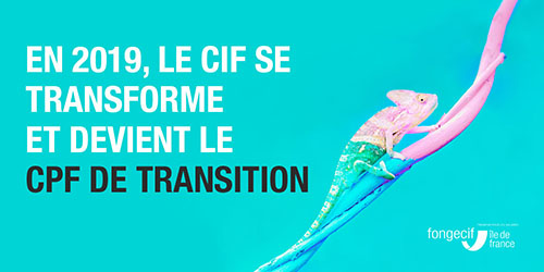 CPF de transition - Fongecif IDF