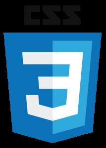 logo des feuilles de styles en cascade css 3