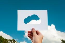 photo illustrant le concept de cloud computing