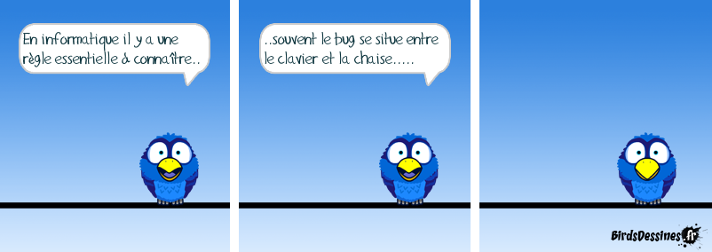 bd humoristique test logiciel
