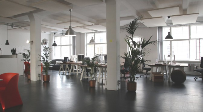 photo d'un espace de travail vide