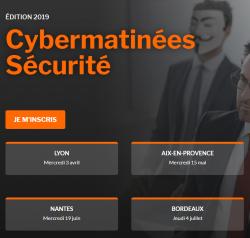 Cybermatinées Sécurité