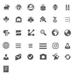 Dashicons WordPress 5.2