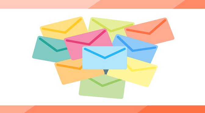 Image illustrant le processus de l'emailing