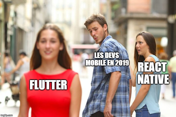meme flutter vs react native
