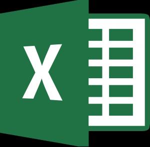 logo du tableur microsoft excel