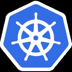 logo de l'orchestrateur de conteneurs kubernetes