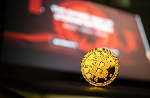Bitcoin sur un ordinateur