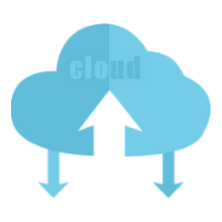 Icône Cloud Computing