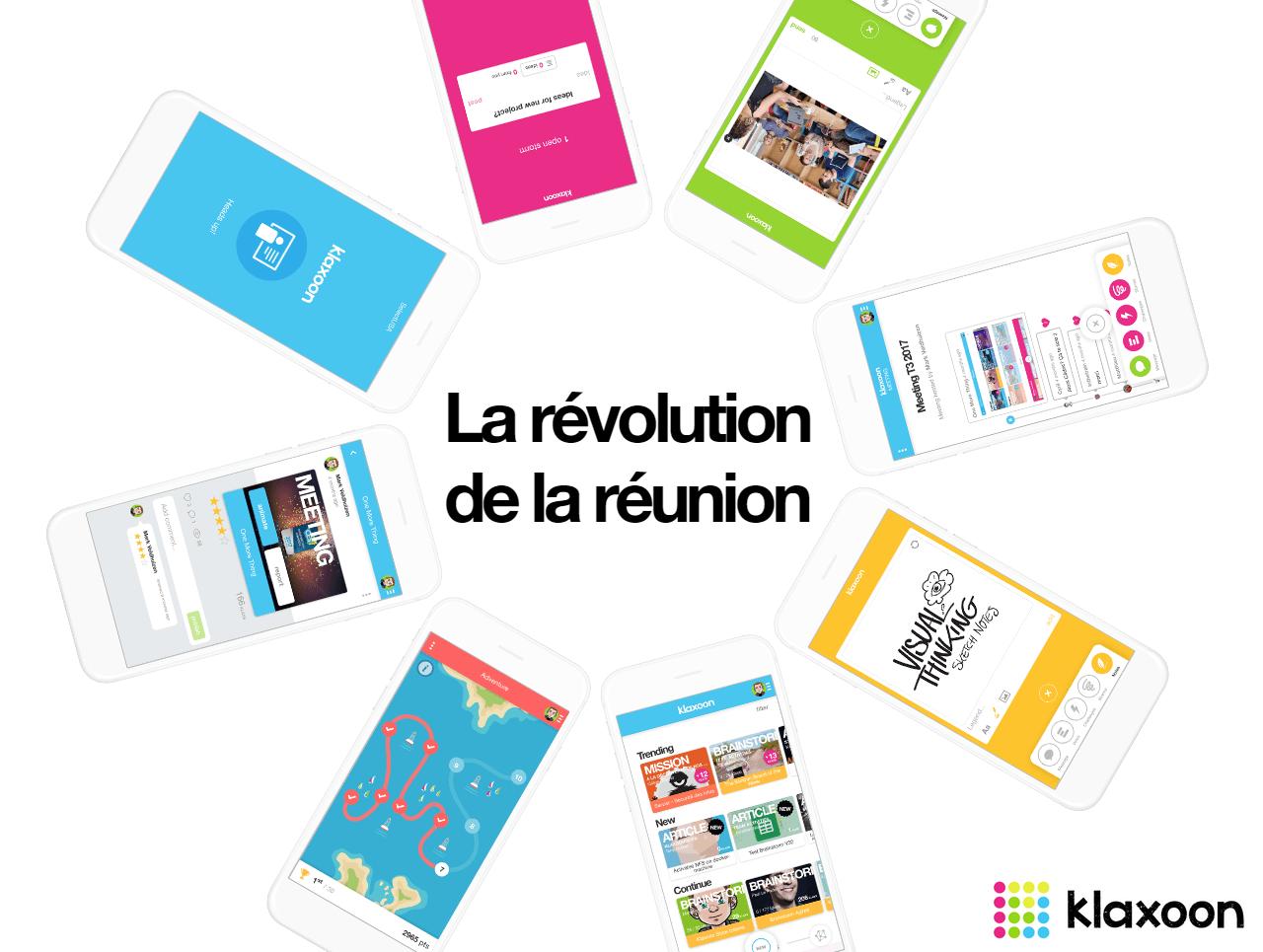 Klaxoon : la révolution de la réunion