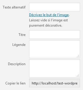 WordPress 5.2 - Importer une image