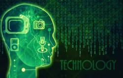 Illustration représentant l'intelligence artificielle en entreprise