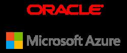 Logos de Microsoft Azure et d'Oracle Cloud