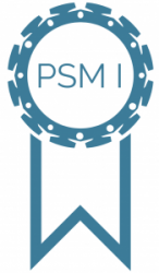 logo de la certification psm 1