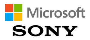 Logos de Microsoft et Sony