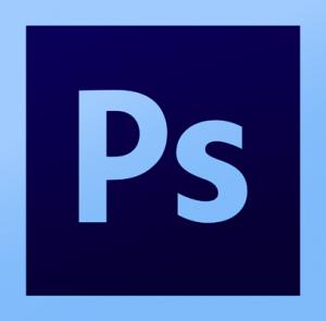 logo du logiciel de retouche traitement dessin adobe photoshop