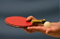 photo d'une raquette de ping pong