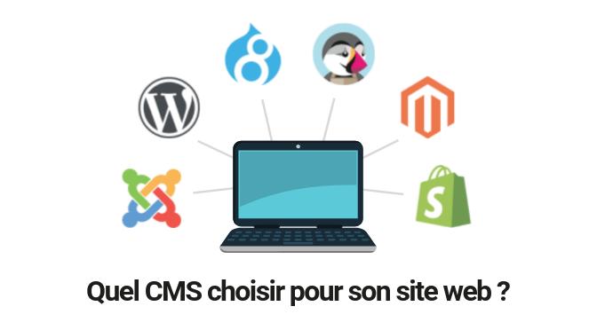 Quel CMS choisir pour son site web ?