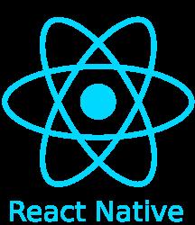 logo du framework de développement mobile React Native